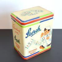 Ancienne Boîte publicitaire «Storck» bonbons chocolat menthe vintage