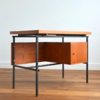 Bureau Moderniste vintage 1950s