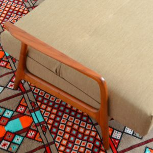 Canapé : Daybed Scandinave teck 1960 vintage 42