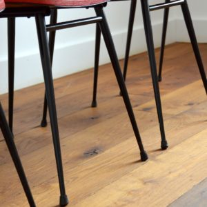 Chaises Rockabilly 1950 vintage fifties 13