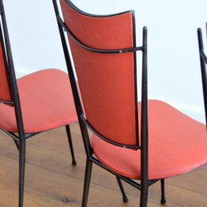 Chaises Rockabilly 1950 vintage fifties 23