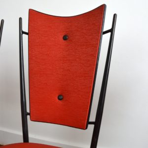 Chaises Rockabilly 1950 vintage fifties 7