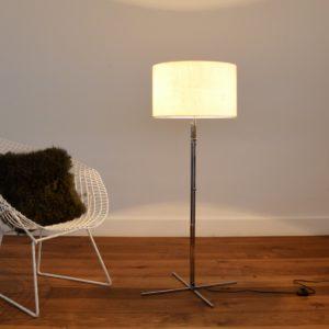 Floor lamp : lampadaire ajustable scandinave 1960 vintage 26