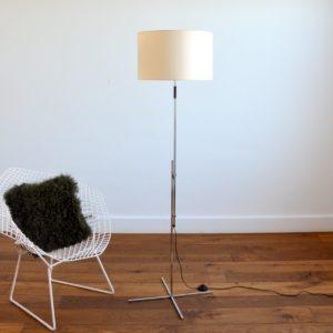 Floor lamp : lampadaire ajustable scandinave 1960 vintage 28