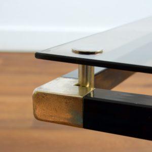 Table basse design Français années 70 : 80 vintage 14