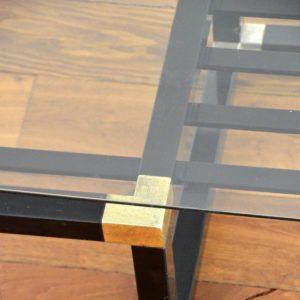 Table basse design Français années 70 : 80 vintage 28
