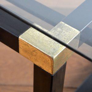 Table basse design Français années 70 : 80 vintage 36
