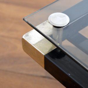 Table basse design Français années 70 : 80 vintage 37