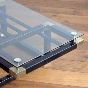 Table basse design Français années 70 : 80 vintage 39