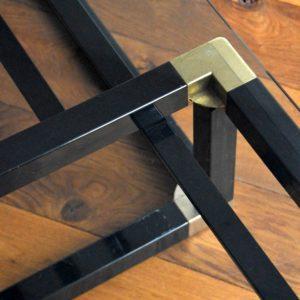 Table basse design Français années 70 : 80 vintage 43