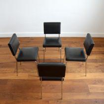 4 chaises design années 50 Guariche vintage 2