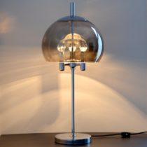 Grande lampe de table Doria Leuchten 1960s vintage 13